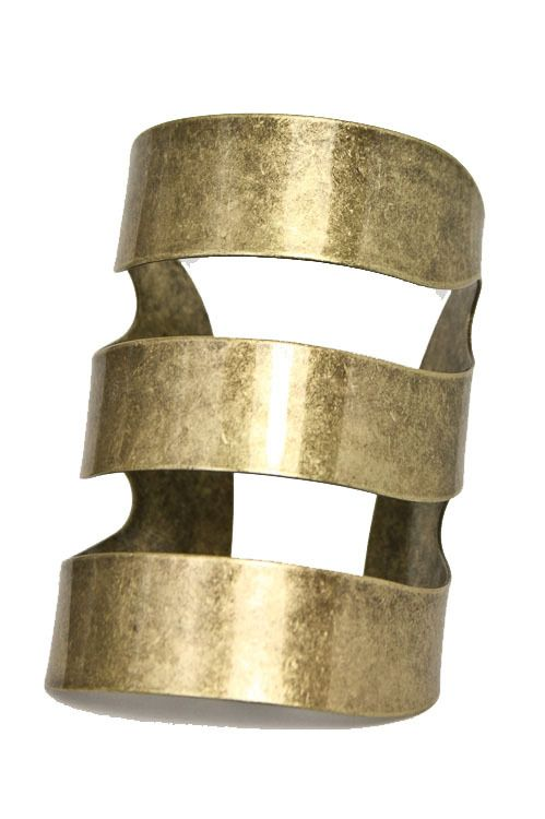 """BLK AND NOIR JEWELRY - """"Akasha"""" Long Arm Cuff, $15.00 (http://www.blkandnoir.com/akasha-long-arm-cuff/)"""