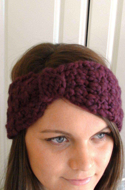 Amazing Knit Headwrap Pattern Vignette - Great Sewing Ideas ...