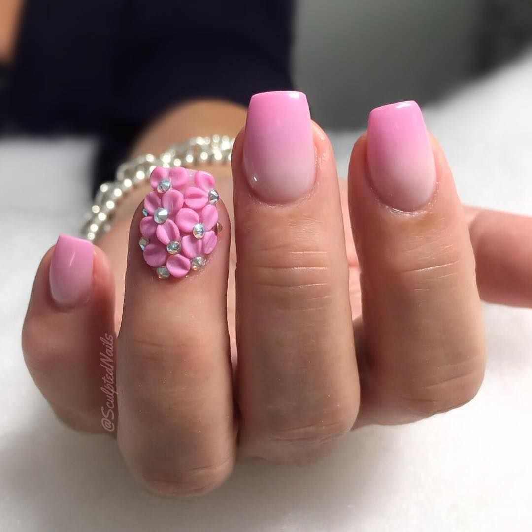 Pin By Liyahxo On Nail Ideas Pinterest Ombre