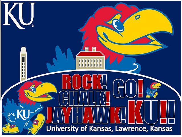 NCAA Kansas Jayhawks WinCraft Official Basketball Game Clock