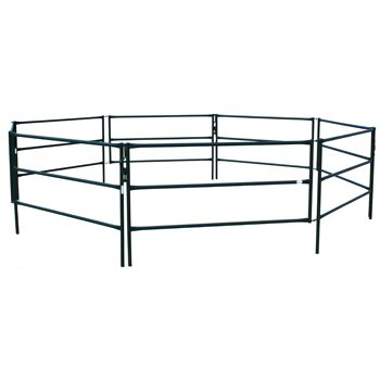 Hi-Hog's portable horse corral is the perfect answer for those looking for temporary penning for their pony, horse, or llama. If you're roping, penning, racing, showing, guiding, training, or riding, these portable horse corrals will help ensure your equine partner is happy, comfortable and secure.  http://hi-hog.com/trailer-panels-panel-overview/#