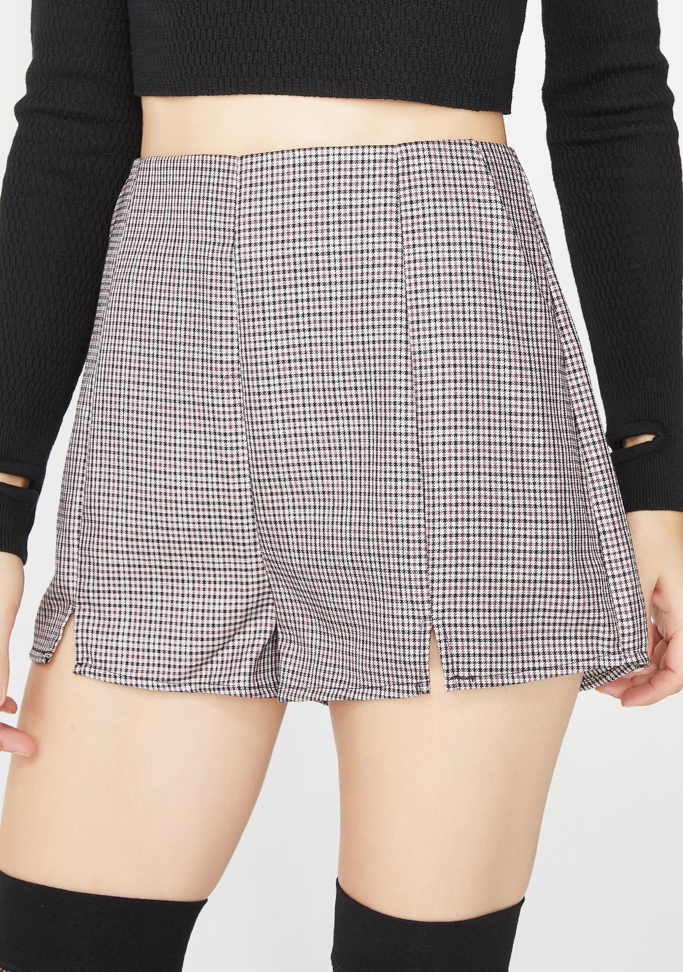 160e7e0a184999 Wild Honey Free, fast shipping on Bad Grl Plaid Shorts at Dolls Kill, an  online boutique for punk and rock fashion. Shop graphic tees, bodysuits, &  dresses.
