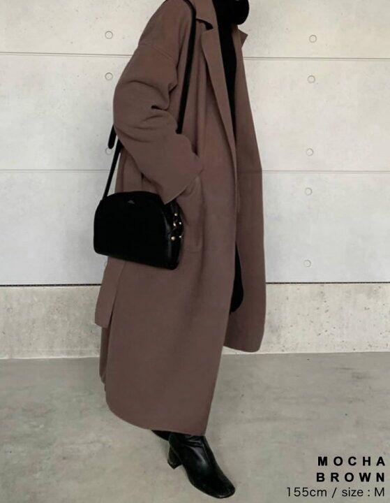 レディース/[2020秋冬新作][先行予約受注] : Re:EDIT(リエディ) #コート #ロングコート #coat #coatsjackets #longcoats #2020fw #2020aw