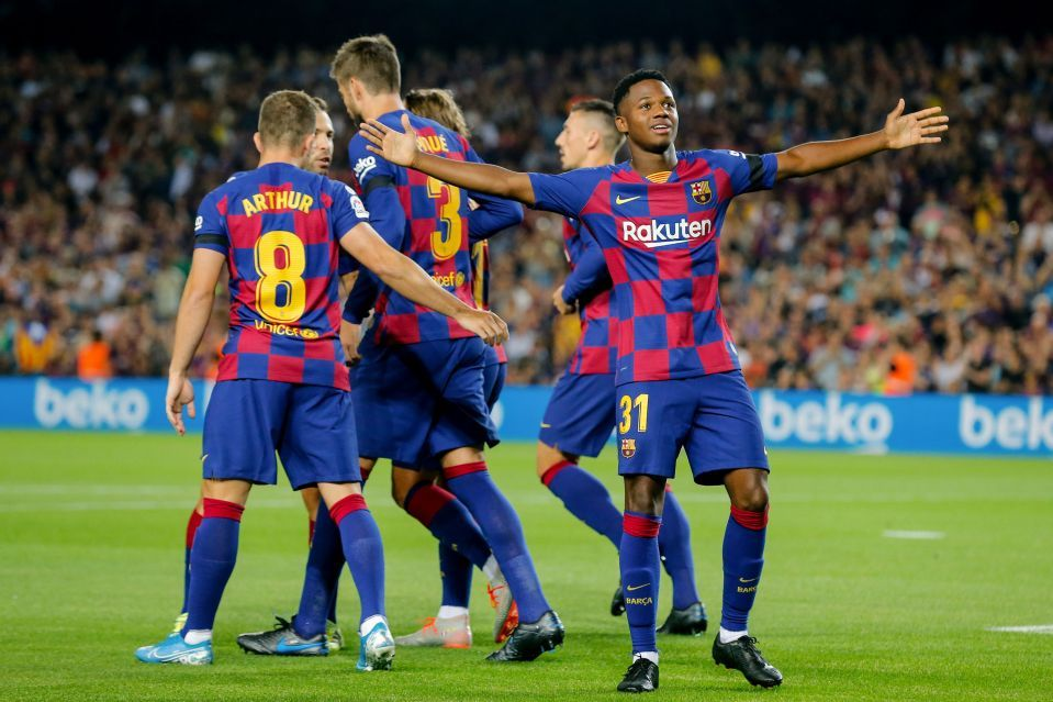 Barca Increase Fati S Release Clause Sport Event Sports Latest News Today