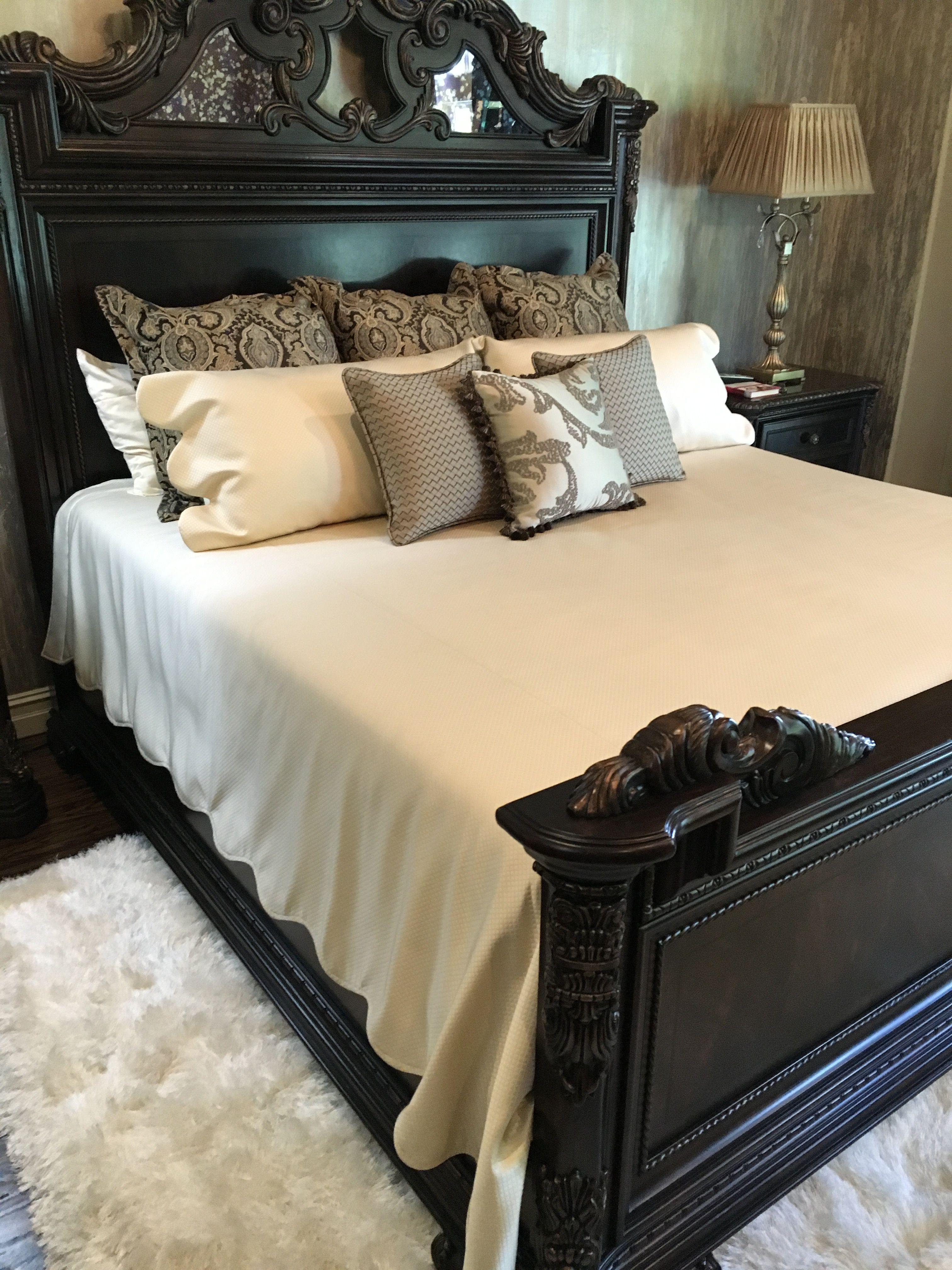 Custom Bedding From Our Workroom