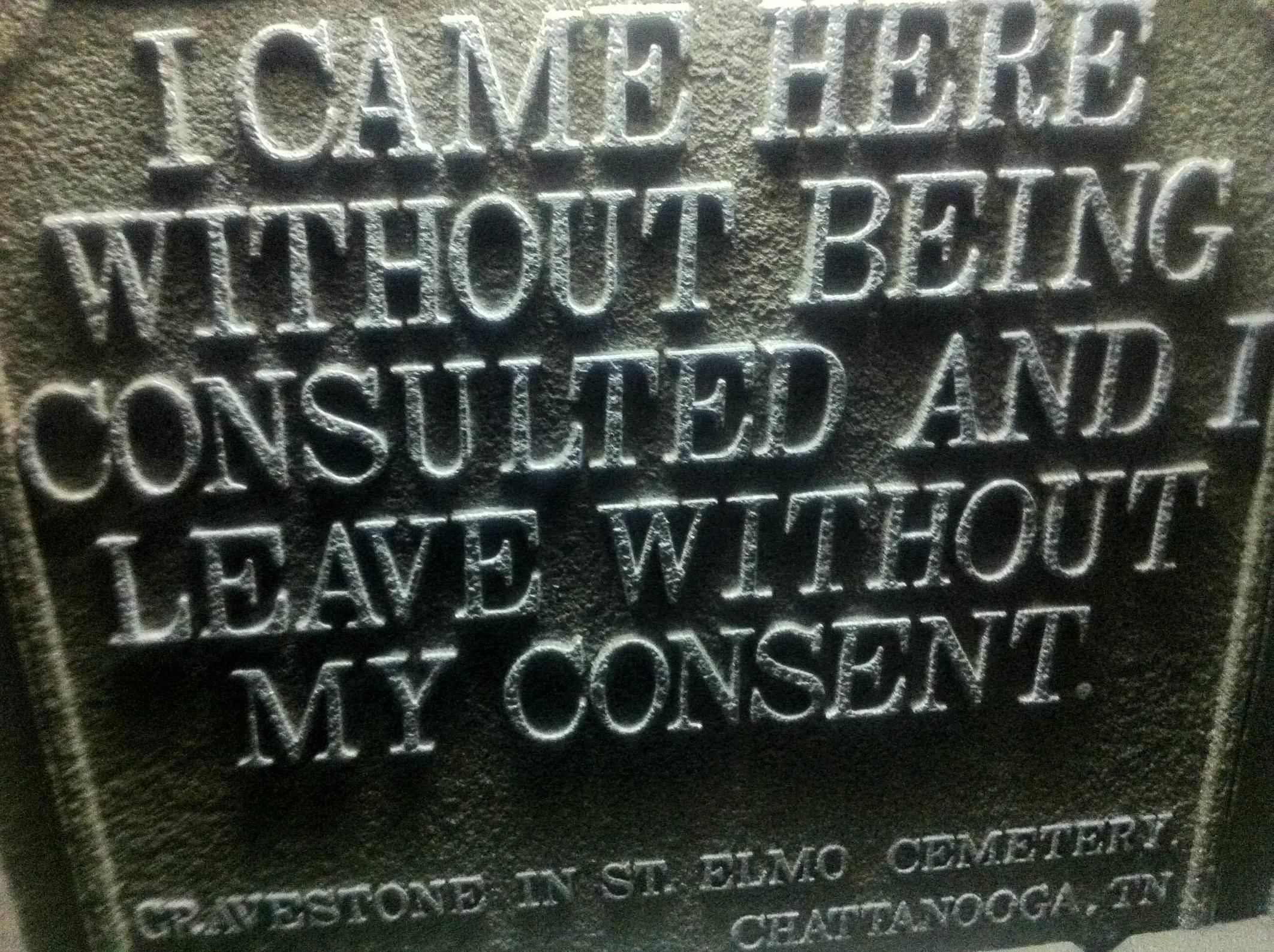 Funny Quotes Tombstone Epitaph Gravestone