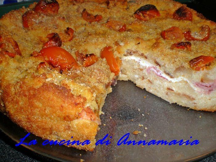 Pizza Di Pane Raffermo Ricette Pizza Torte E Cake Recipes