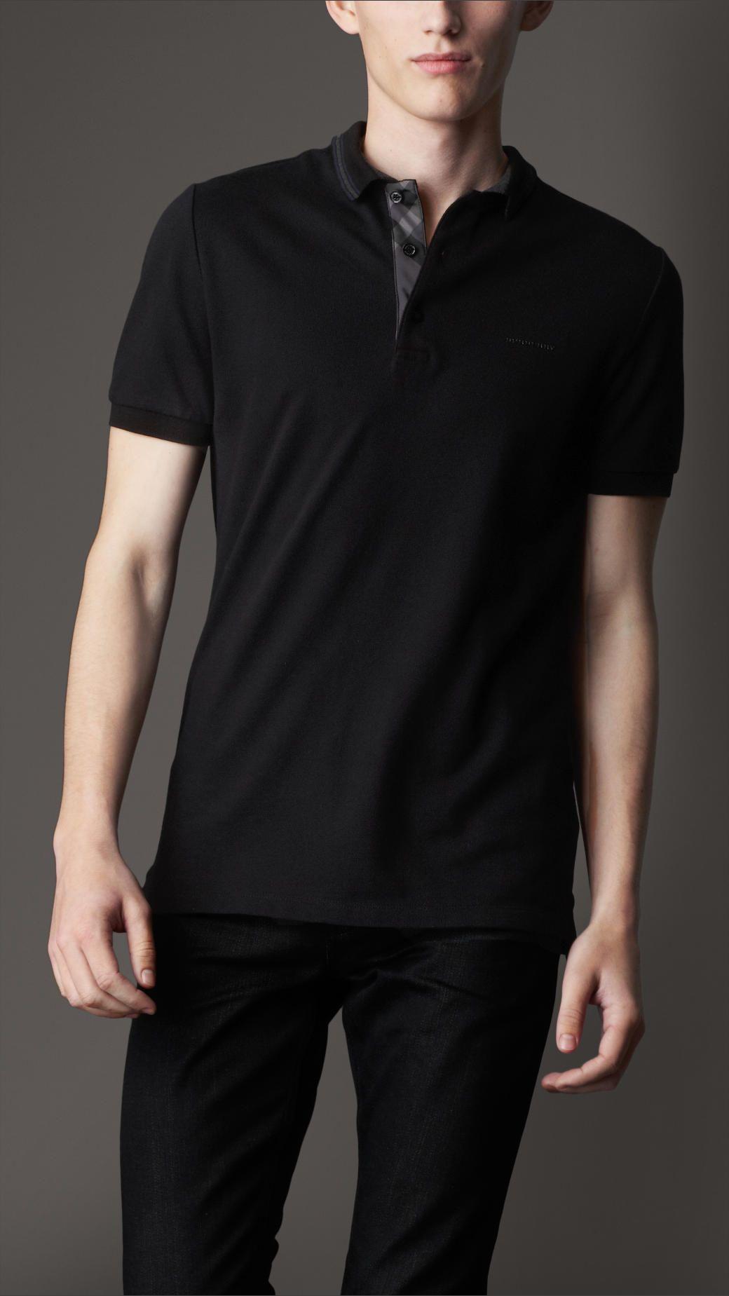 Burberry Polo Burberry T Shirt Polo Shirt Mens Shirts