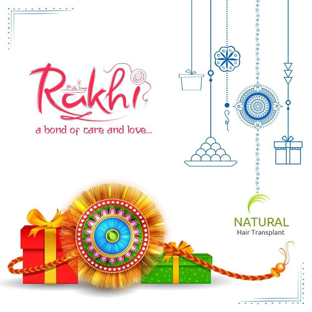 Happy Raksha Bandhan #rakshabandhancards Natural Hair Transplant Wishes You #Happy Raksha Bandhan  Festivals of the festival are the Rakhi festival, Which shows brotherly love, Happy Raksha Bandhan festival.  #rakshabandhan #rakhi #love #rakshabandhanspecial #brother #mumbai  #rakshabandhangifts #handmade #india #bhai #handmaderakhi #handmadegifts  #kundanrakhi #rakhis #gifts #bro #bhabhirakhi #flowerrakhi #rakhipair #sisterquote  #relationship #gift #family #sister #rakhispecial #rakshabandhanf #rakshabandhancards