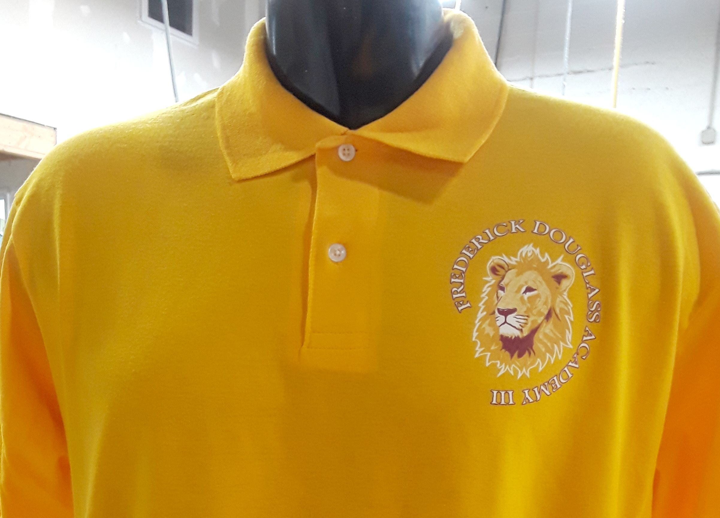 We Also Offer Great Prices On Custom Screen Printed Polo Shirts