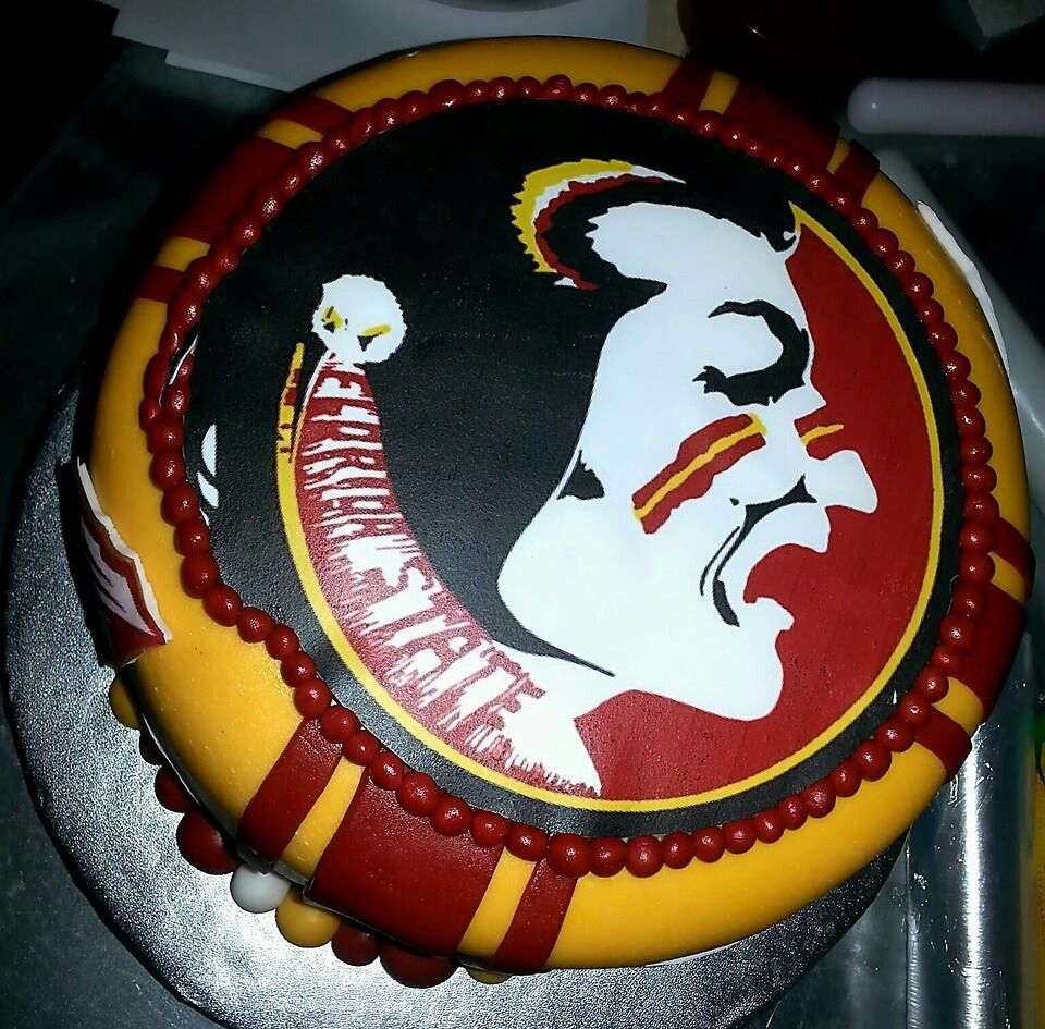 fsu cake decorations