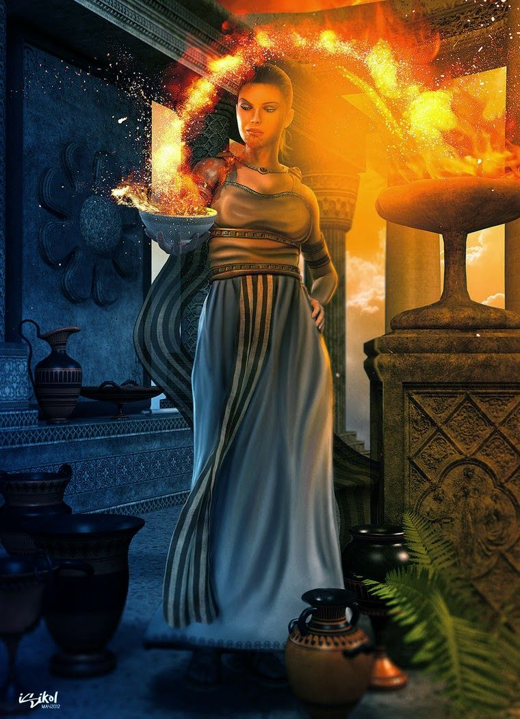 Hestia mitologa pinterest mythology and ancient greece goddess hestia virgin goddess of hearth fire and domestic life she is a daughter of cronus and rhea her roman equivalent is vesta biocorpaavc Image collections