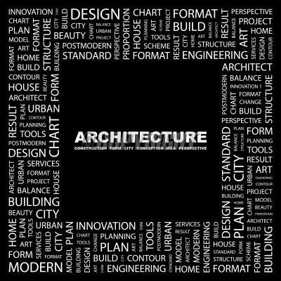 Gallery For Architecture Word Art