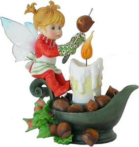 Roasting Chestnuts Fairie  $22.95 available at efairies.com