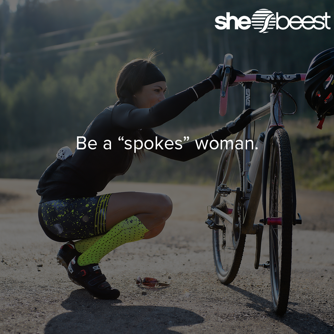 Be A Spokes Woman Womenscycling Cycling Outfit Womens Cycling