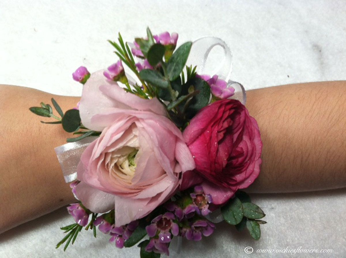 Image Result For Lisianthus And Ranunculus Corsage Prom Flowers Corsage Prom Corsage Pink Boutonnieres Prom