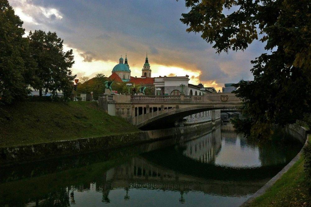 Baroque not broke in Ljubljana, Slovenia