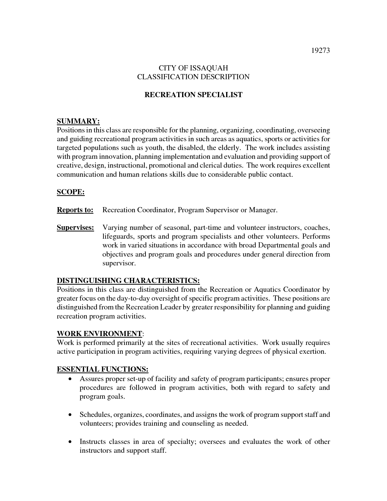 Communications Specialist Resume  Resume Template