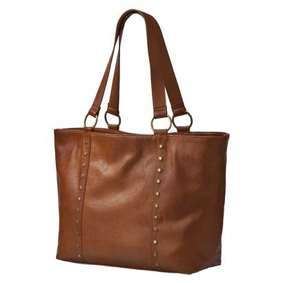 Things that look more expensive than they are: Just got this bag at Target yesterday - $30 and looks so much classier than that.