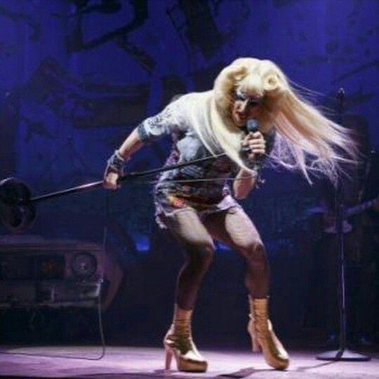 Darren is Hedwig