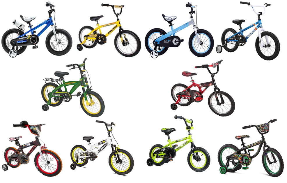 The Top 10 Best Rated 16 Inch Boys Bikes With Training Wheels For