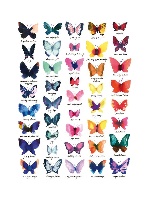 butterflies (by miss Capricho)