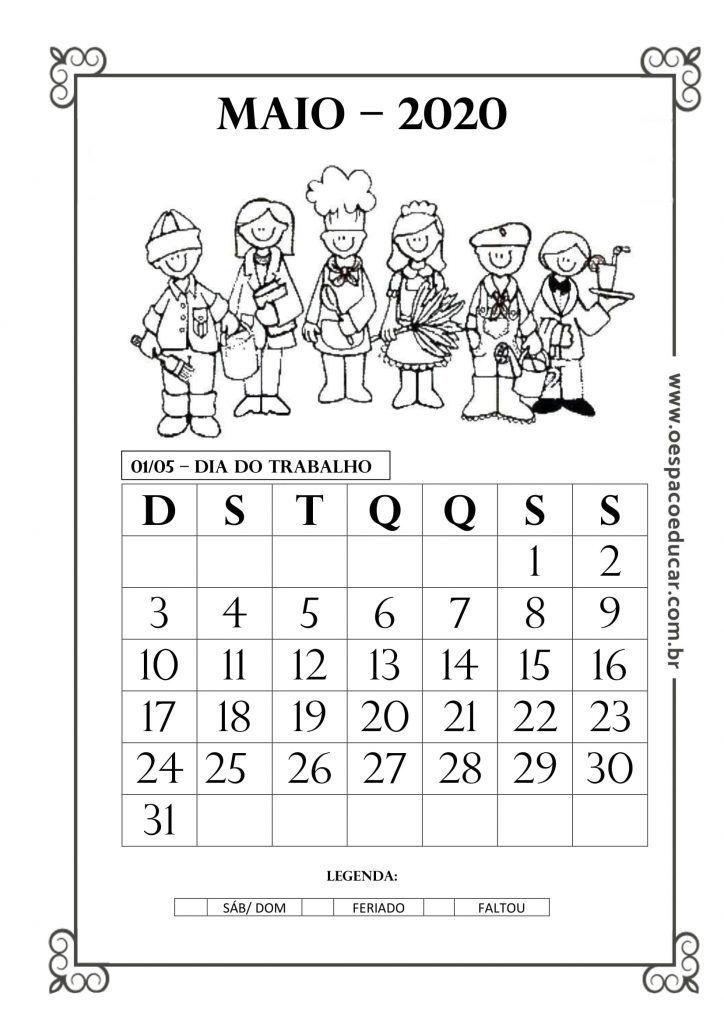 Calendarios 2020 Para Imprimir Calendarios Infantis Frases