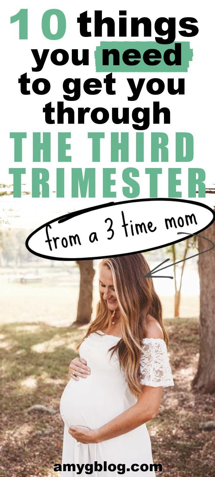 My Third Trimester Summer Must Haves
