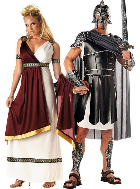Roman Empress and Centurion Couples Costumes - Party City Canada - party city store costumes