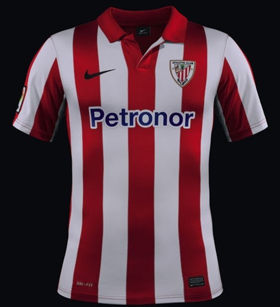 alma sopa presentación  Athletic Bilbao - Home Strip 2013-14. | Retro football shirts, Soccer  shirts, Sports shirts