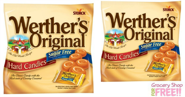 Free Werthers Candy At Dollar Tree Sugar Free Coffee Candy