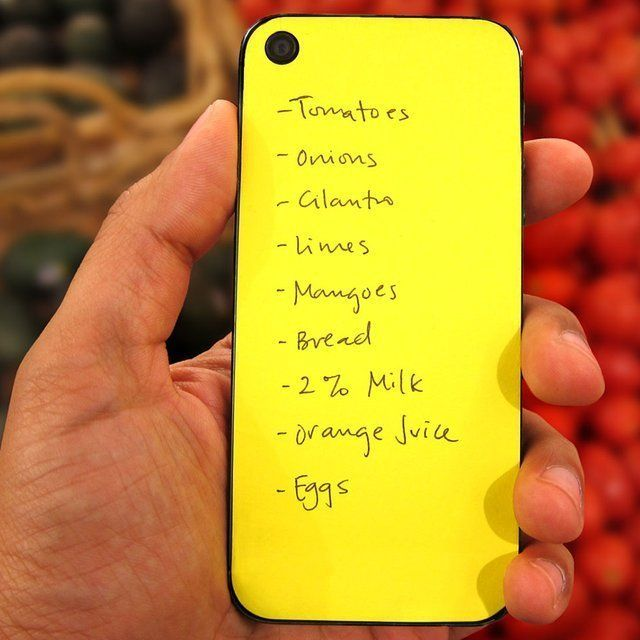 Fancy - Stickable iPhone Paperback Notes