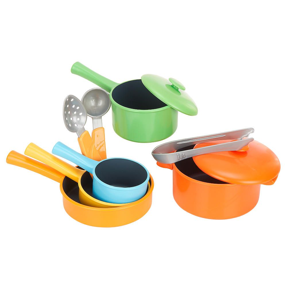 Just Like Home 10 Piece Everyday Cookware Set Toys R Us