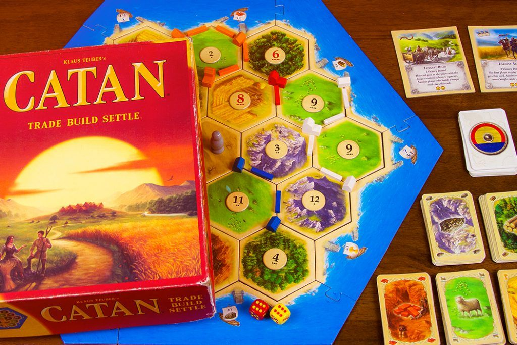 5 Games Like Settlers of Catan Catan, Settlers of catan