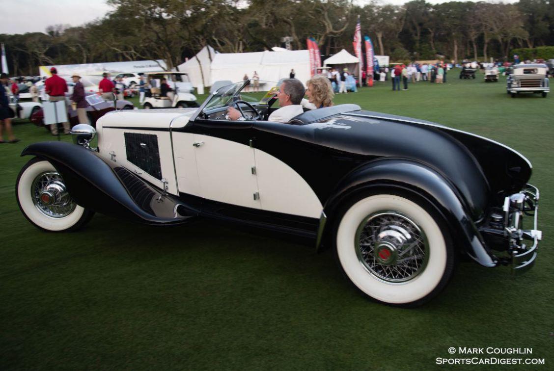 Best of Show Concours d'Elegance 1930 Cord L29 Brooks