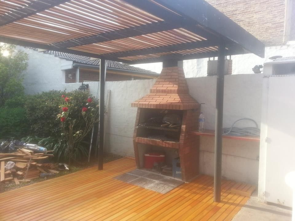 Pergolas de hierro y madera buscar con google casa pinterest pergola - Pergola de hierro ...