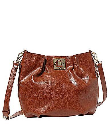 f8c7e6a899 Big Buddha Loraine Turnlock CrossBody Bag  Dillards