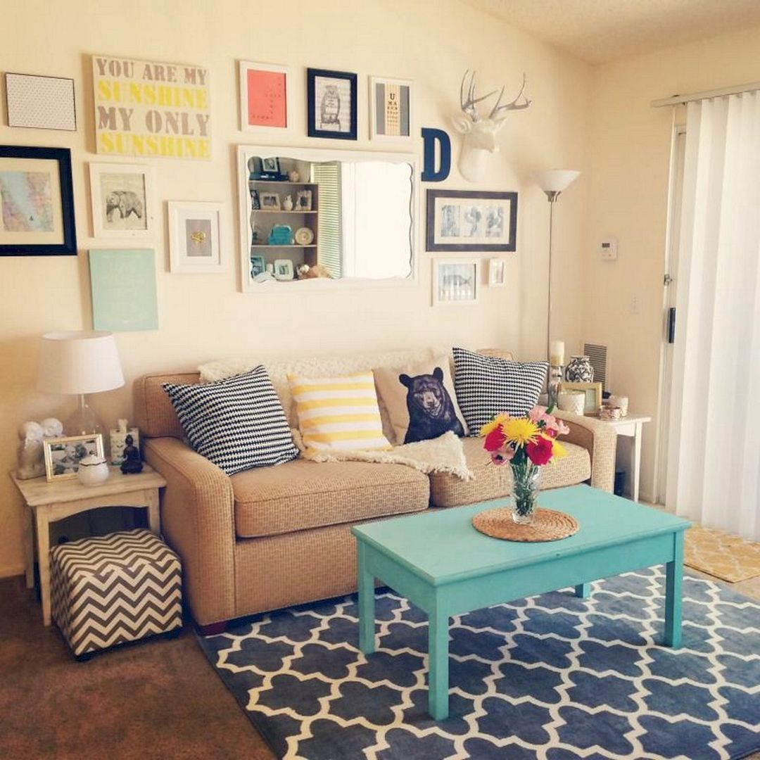 Awesome Photo Of Apartment Decorating Hacks 37 Clever Decoration For Small Apartments