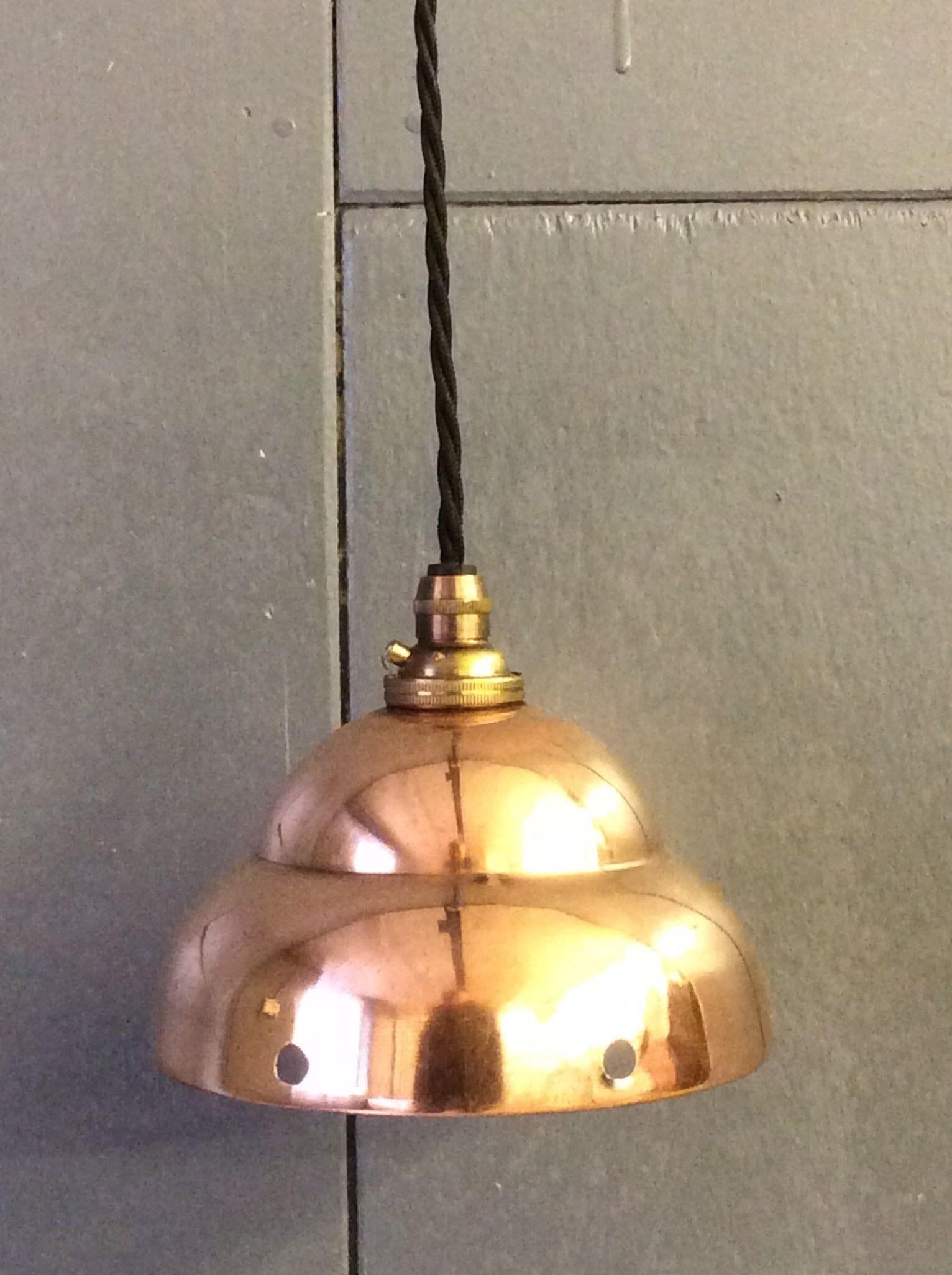 Copper 'posser' light.
