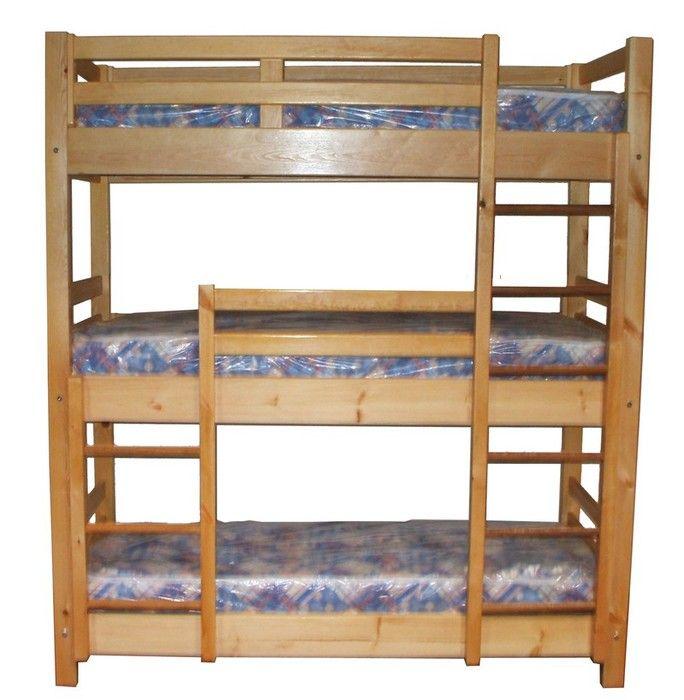 triple bunk beds triple sleeper bed caravan pinterest triple sleeper triple bunk beds. Black Bedroom Furniture Sets. Home Design Ideas