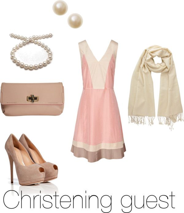 """Hairstyle For Wedding Godmother: """"Christening Guest Outfit"""" By Sam-findlay On Polyvore"""