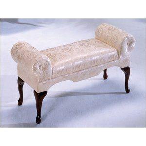 Bernards Traditional Boudoir Upholstered Bench for my bedroom ...