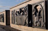 """Obra póstuma de la escultora Eliana Molinelli, sobre """"Las Bodas de Canáa""""  Capilla de la Gratitud, Espacio Salentein"""
