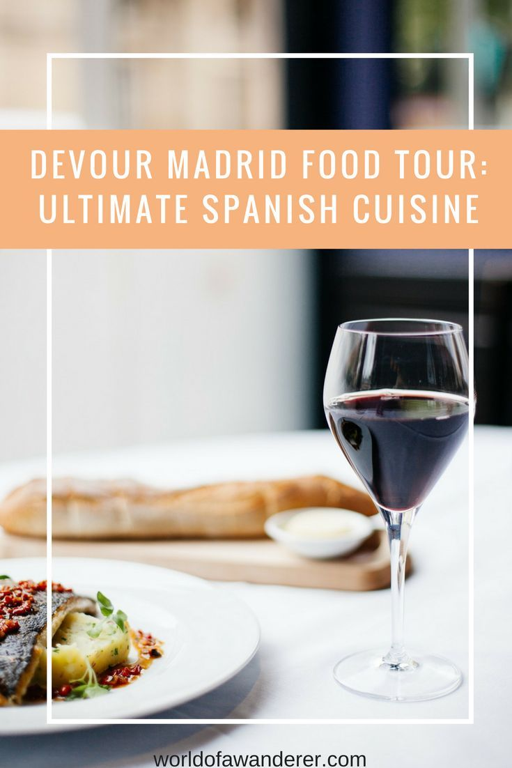 Get a true taste of Madrid on the Ultimate Spanish Cuisine Food Tour with Devour Madrid