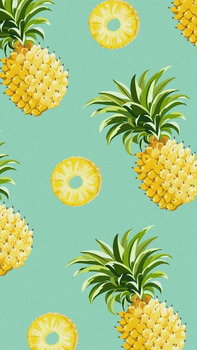 Wallpaper Iphone Pineapple Wallpaper Iphone Wallpaper Pineapple Pineapple Backgrounds