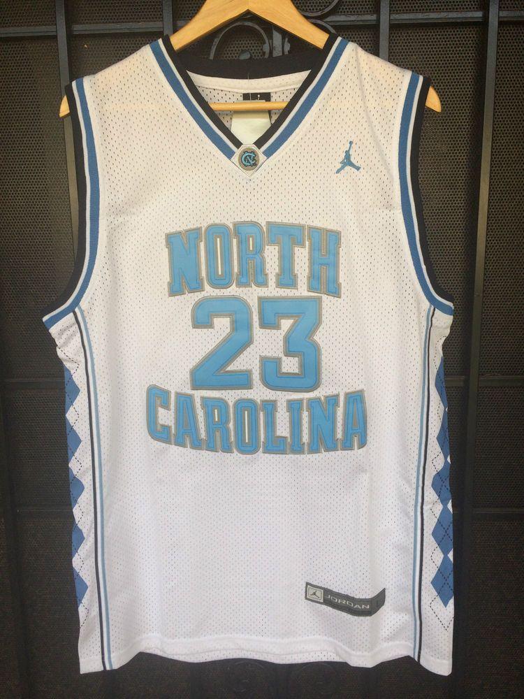 Details about #23 Michael Jordan WHITE UNC North Carolina Tarheels