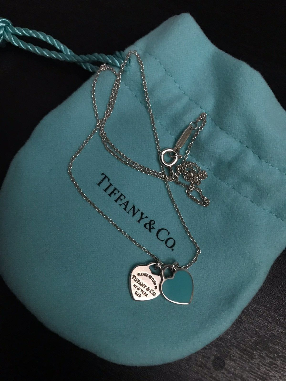 Taking Best Offer No Scratches Genuine Tiffany And Co Necklace 16 Inch Chain Tiffany And Co Earrings Tiffany And Co Jewelry Tiffany And Co Necklace