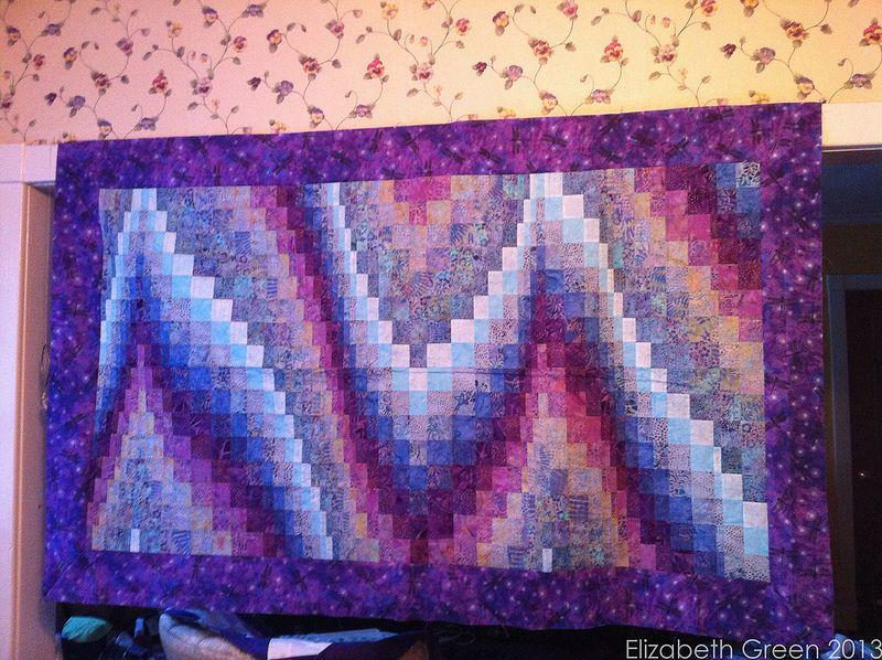 Quiltwork in 2020 Bargello quilts, Art quilts, Bargello