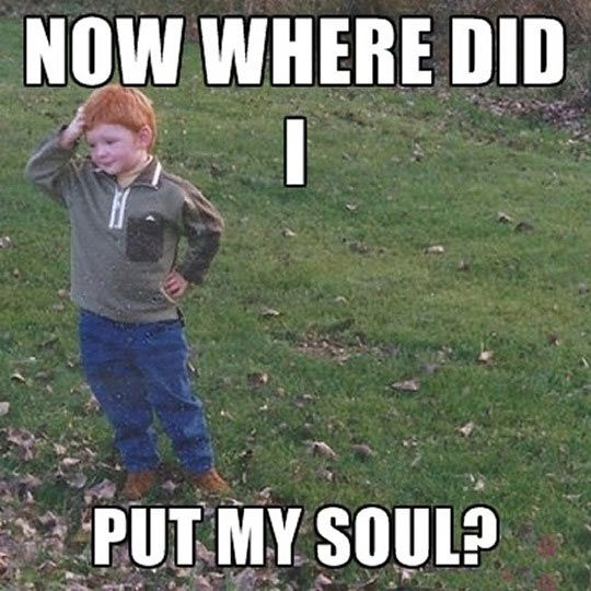 He Already Lost It Ginger Jokes Funny Memes Funny Meme Pictures