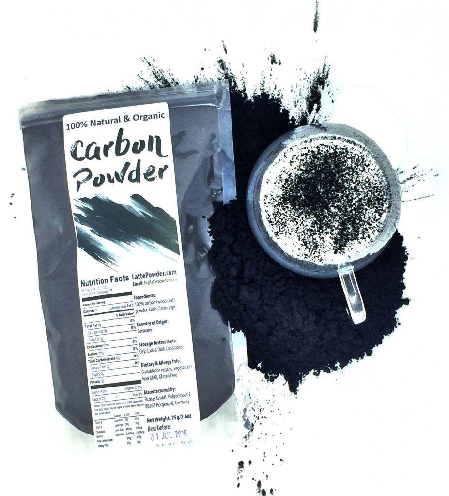 Raw, Natural Charcoal Powder